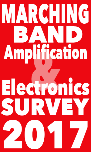 Marching Band Amplification & Electronics Survey 2017 logo